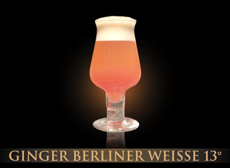 Ginger Berliner Weisse 13°