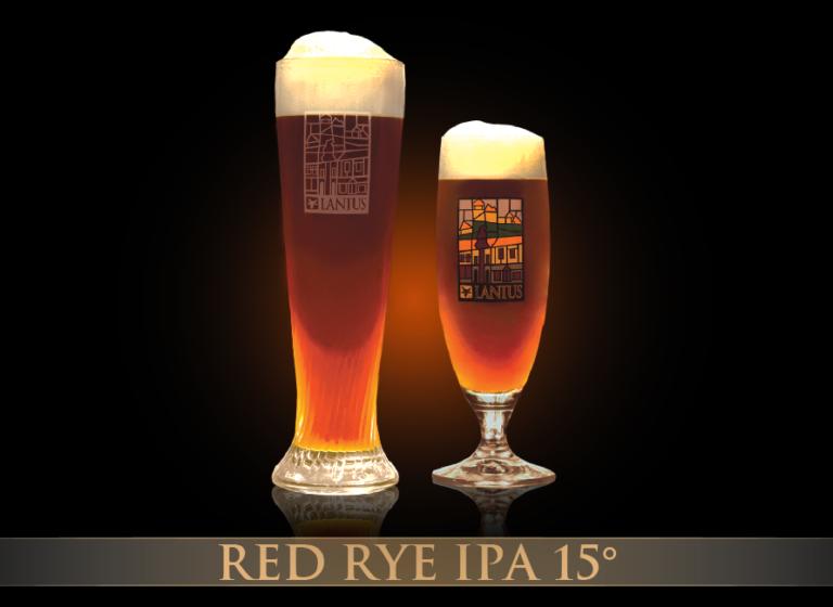 Red Rye IPA 15°