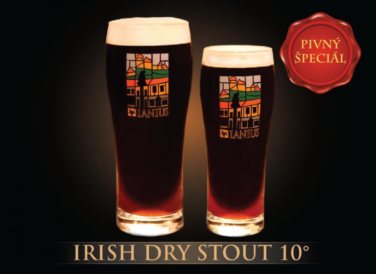 Irish Dry STOUT 10°