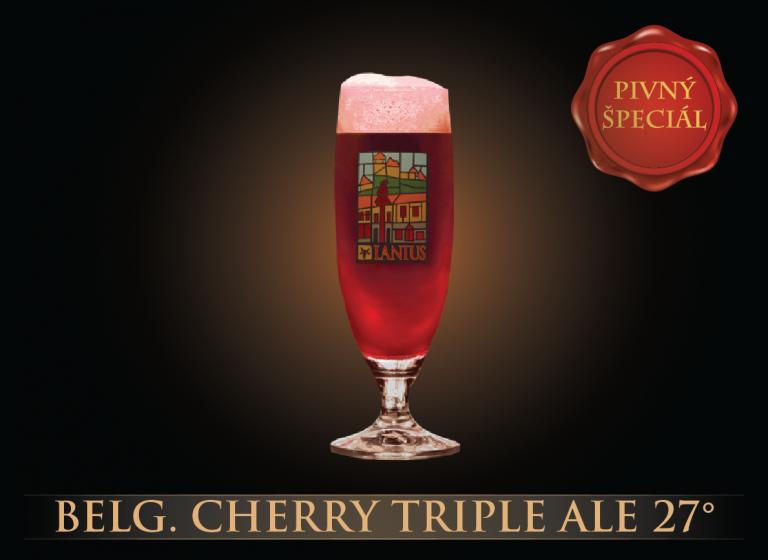 Belg.Cherry Triple Ale 27°