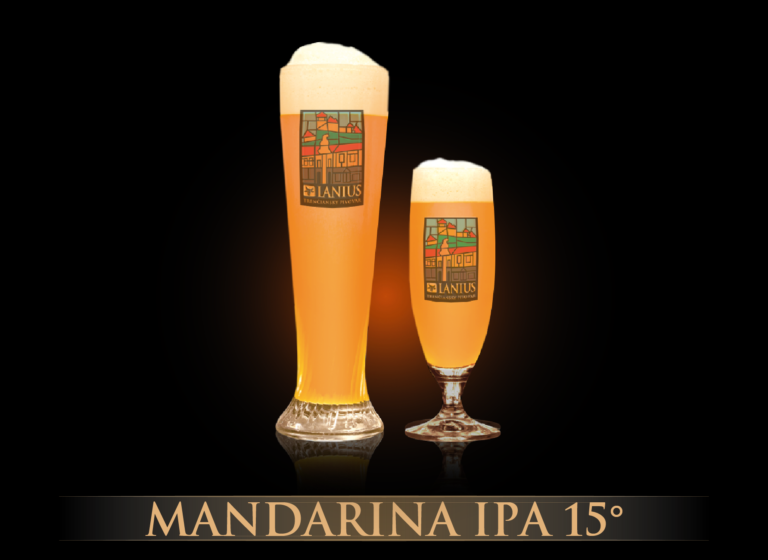 Mandarina IPA 15°