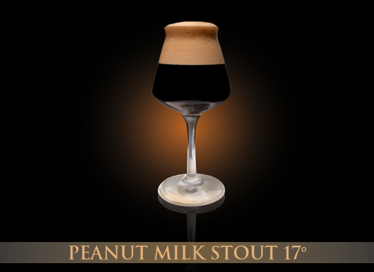 Peanut Milk Stout 17°