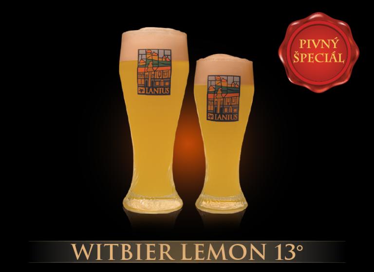 Witbier Lemon 13°