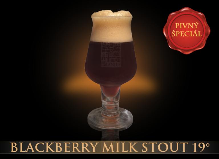 Blackberry Milk Stout 19°