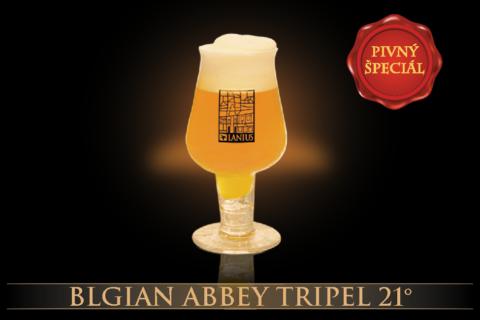 Belgian Abbey Tripel 21° (2016)