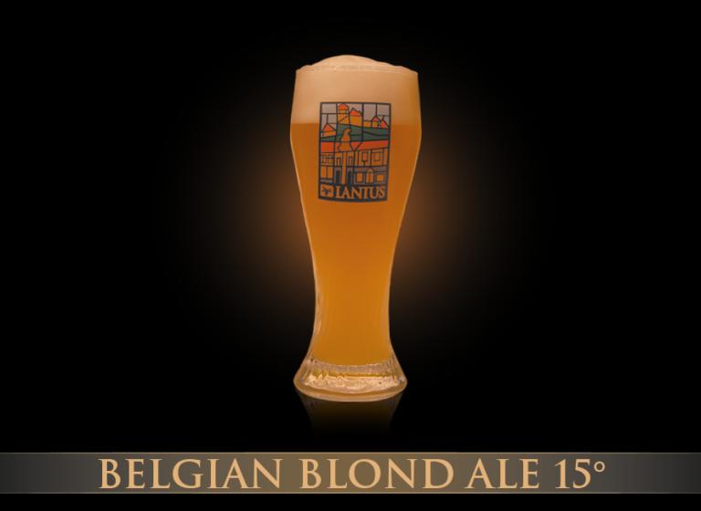 Belgian Blond Ale 15°