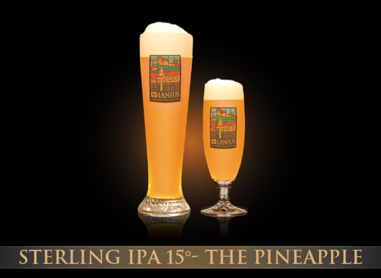 Sterling IPA 15°-The Pineapple
