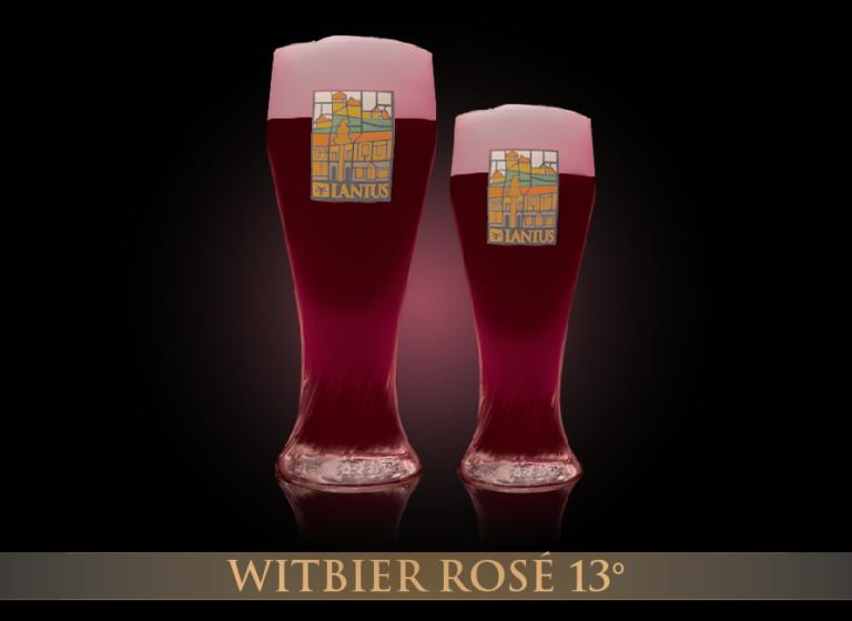 Witbier Rosé 13°